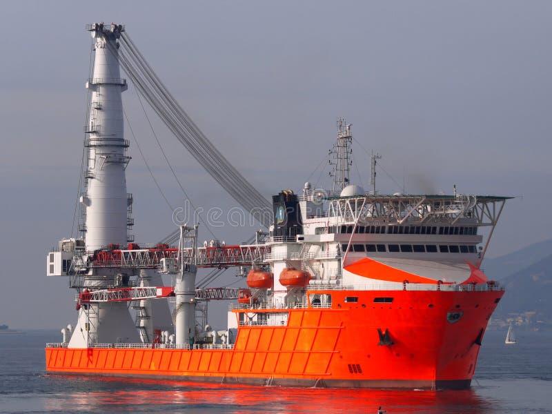 Zee Schip A1 stock afbeelding