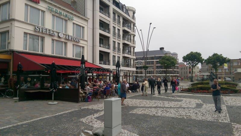 Zeebruge, Bélgica imagen de archivo
