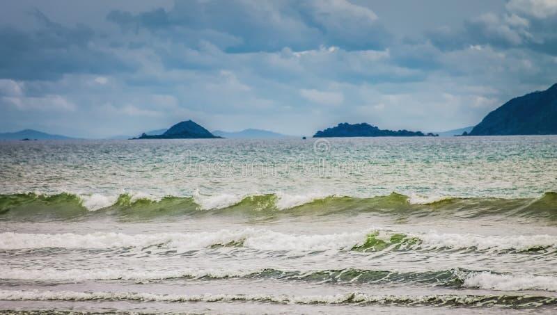 Zeeeilanden van de Kapiti-Kust, Nieuw Zeeland royalty-vrije stock afbeelding