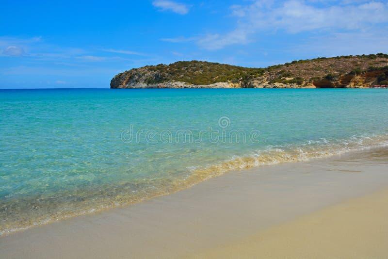 Zeegezicht, Kreta stock fotografie
