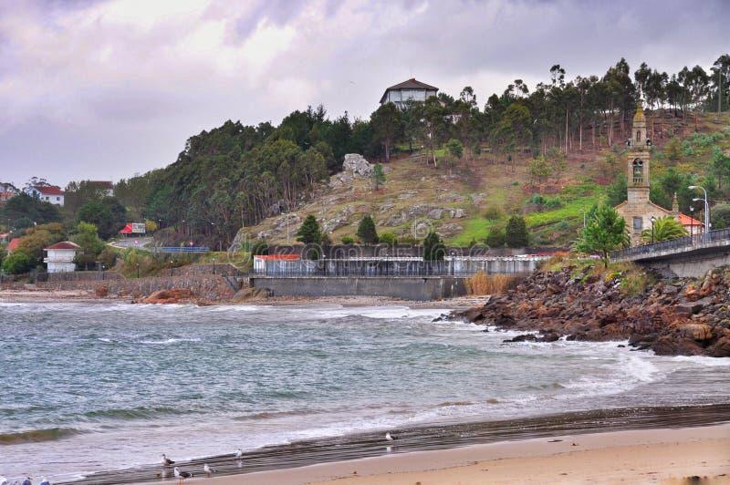 Zeegezicht Porto doet Zoon royalty-vrije stock fotografie