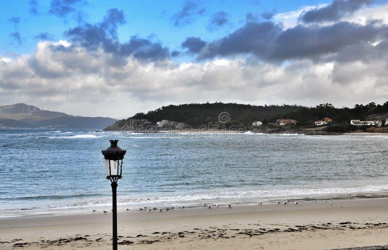 Zeegezicht Porto doet Zoon royalty-vrije stock foto's