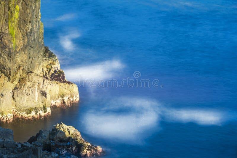 Zeegezichten over het Eiland van Lewis-kusten, Schotland stock afbeelding