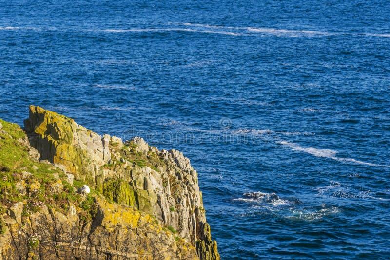 Zeegezichten over het Eiland van Lewis-kusten, Schotland royalty-vrije stock foto