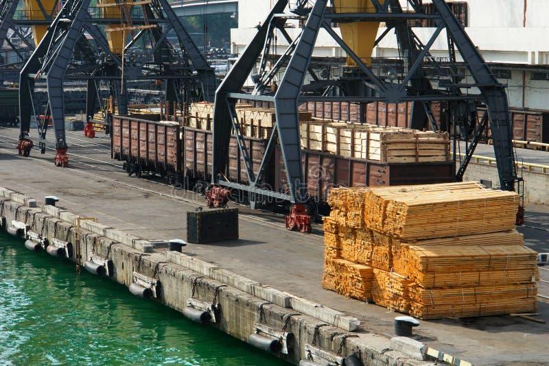 Zeehaven royalty-vrije stock afbeeldingen