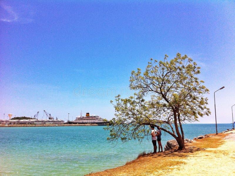 zeehaven royalty-vrije stock foto