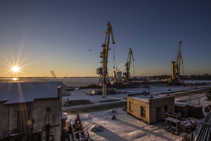 zeehaven stock foto's