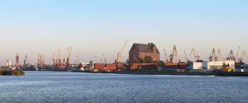 Zeehaven van Kaliningrad royalty-vrije stock afbeelding