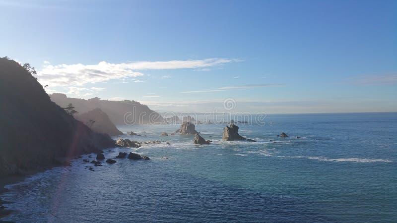 Zeekust de Noord- van Spanje royalty-vrije stock fotografie