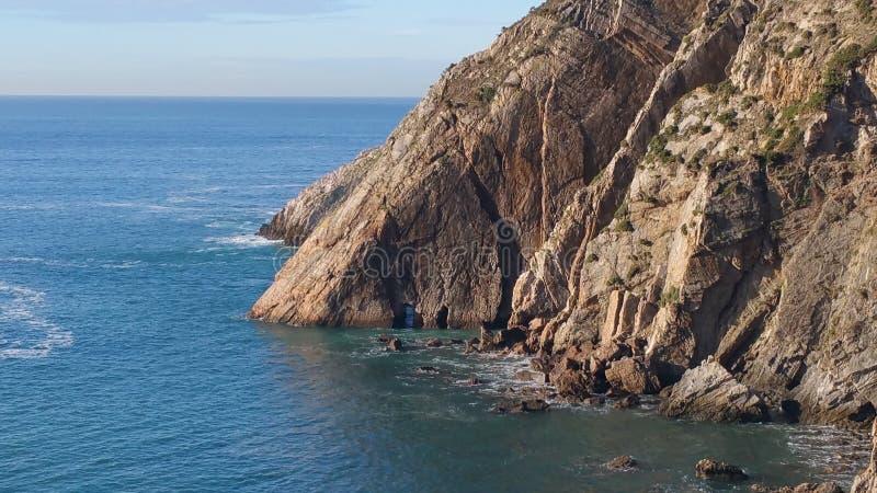 Zeekust de Noord- van Spanje stock afbeeldingen