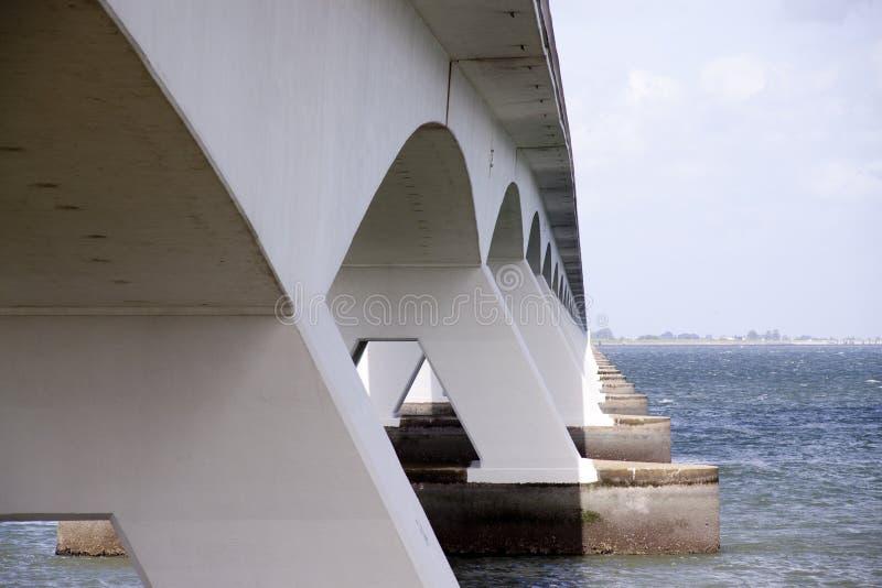 Download Zeelandbrug Or Zeeland Bridge Stock Photo - Image: 29024194