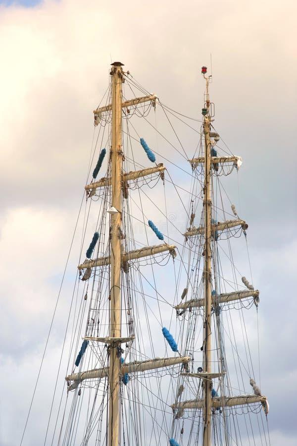 Zeelieden op een schip royalty-vrije stock foto