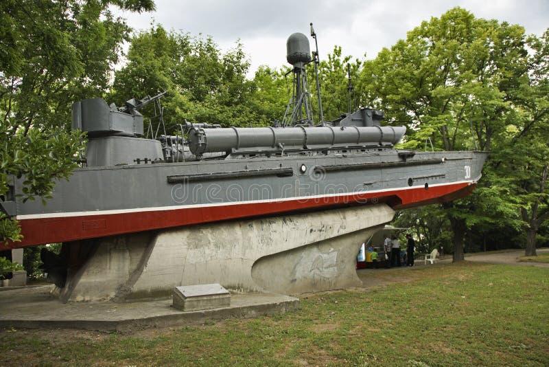 Zeemuseum in Varna bulgarije royalty-vrije stock afbeelding