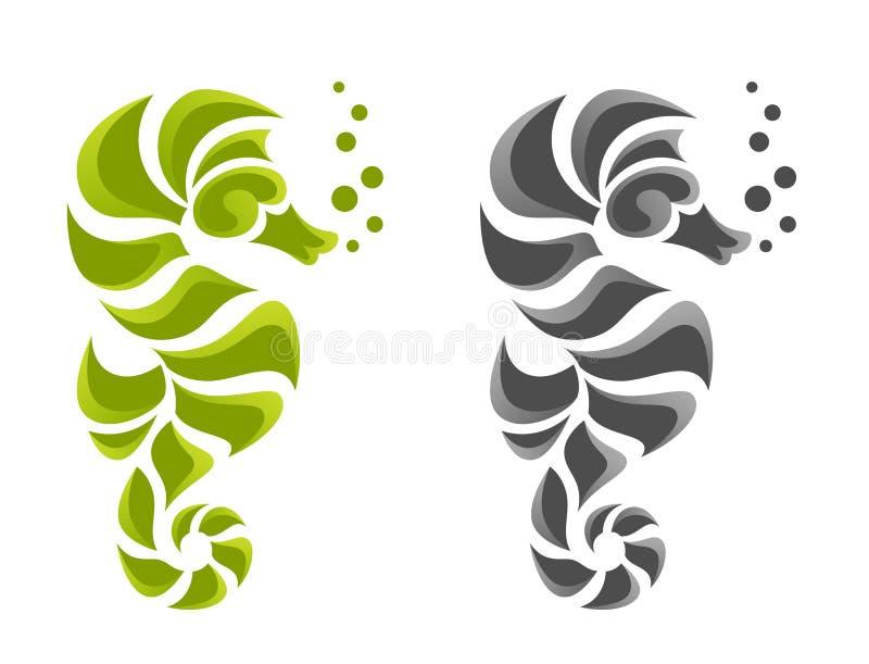Zeepaardje vector illustratie