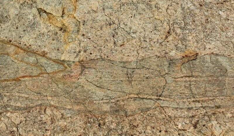 Zeer aardig kader van de gebarsten natuurlijke achtergrond van de rotstextuur royalty-vrije stock foto