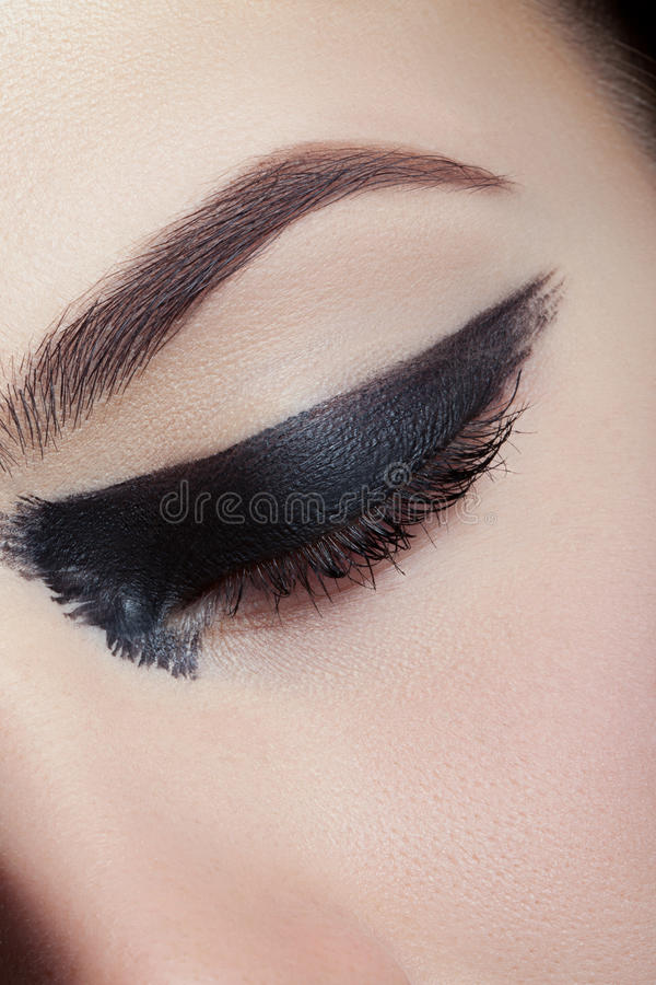 Zeer aardige make-up stock fotografie