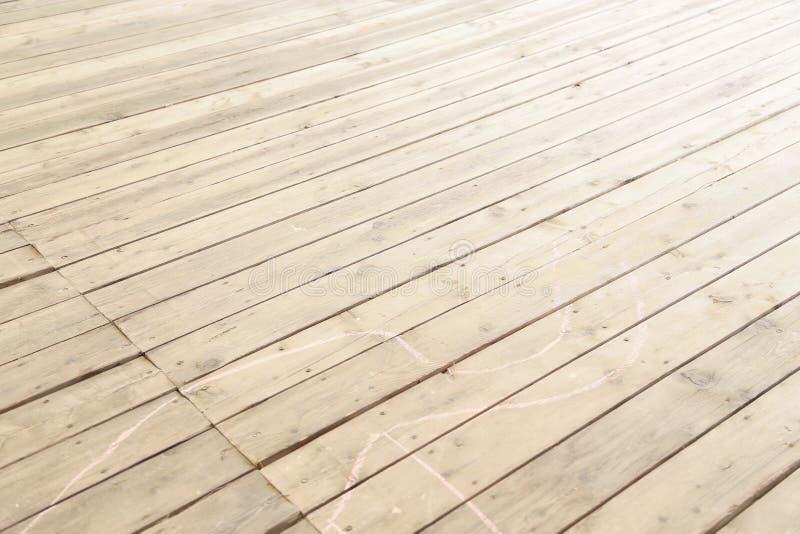 Zeer gelijke houten vloer van houten raad stock afbeelding
