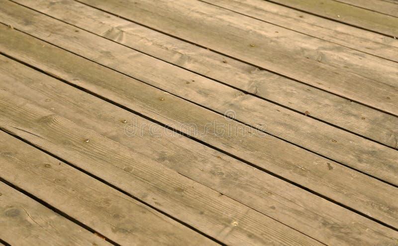 Zeer gelijke houten vloer van houten raad royalty-vrije stock foto's