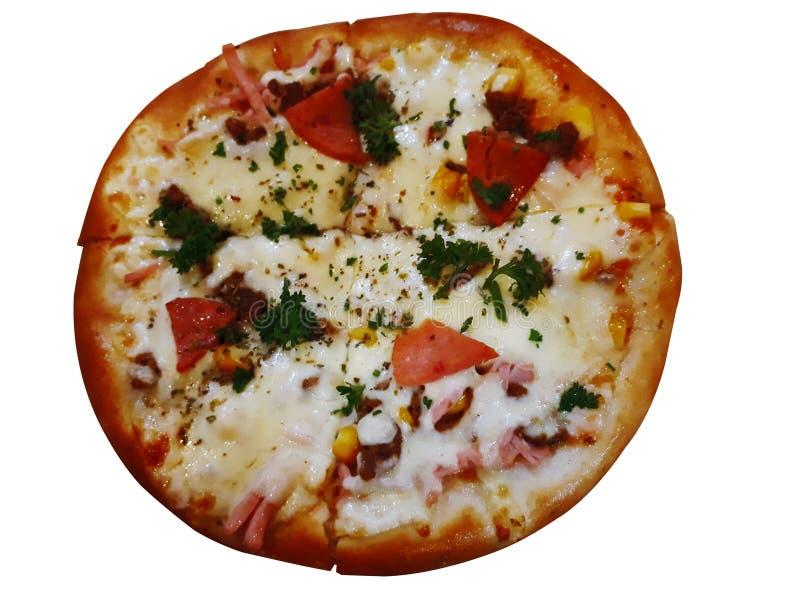 Zeer heerlijke pizza stock afbeeldingen