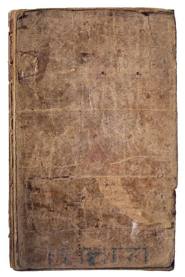 Zeer oud boek hardcover stock foto's