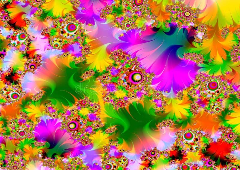 Zeer psychedelisch vector illustratie