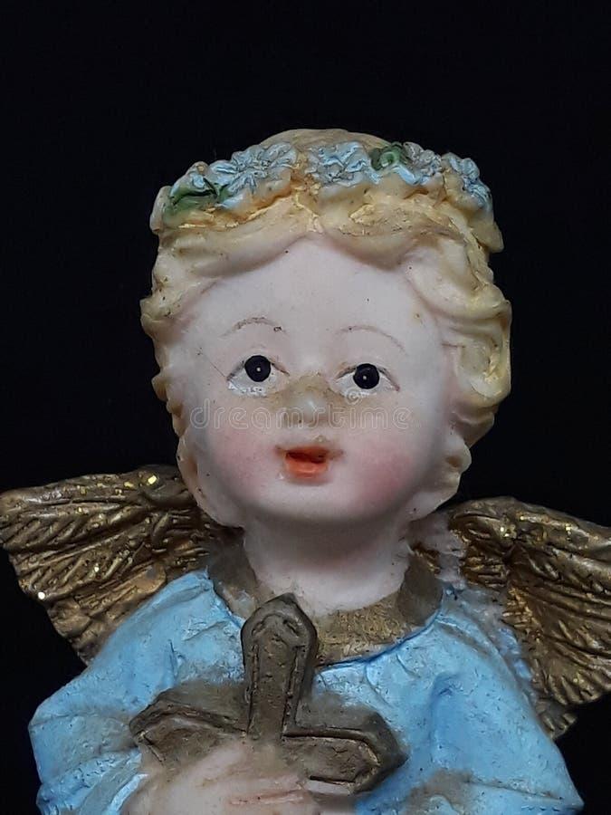 zeer zoete engel stock foto