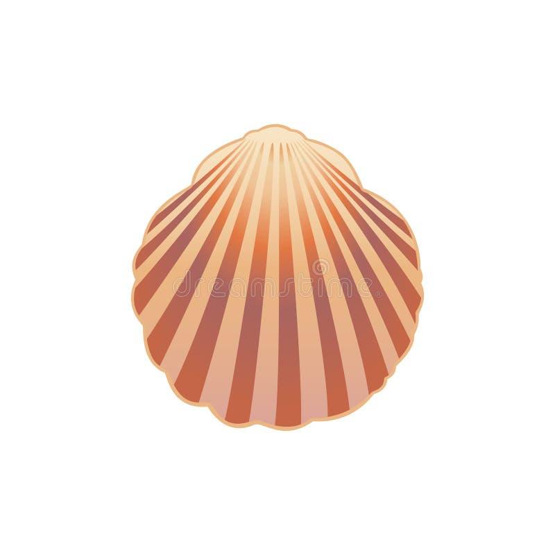 Zeeschelp. royalty-vrije illustratie