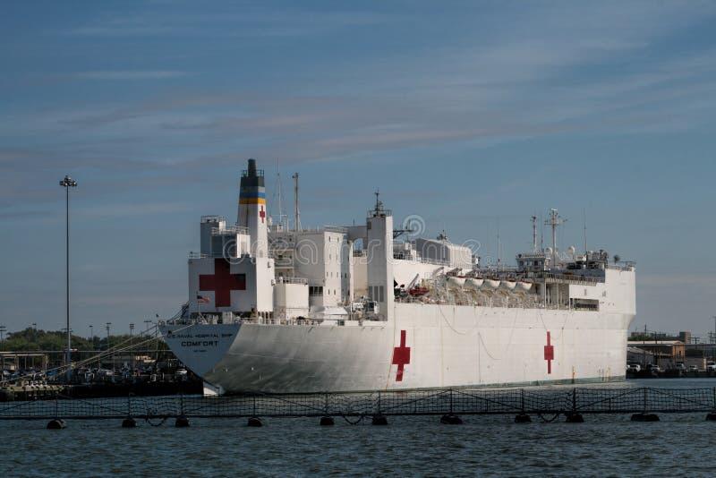 Zeeschepen in Haven royalty-vrije stock foto's