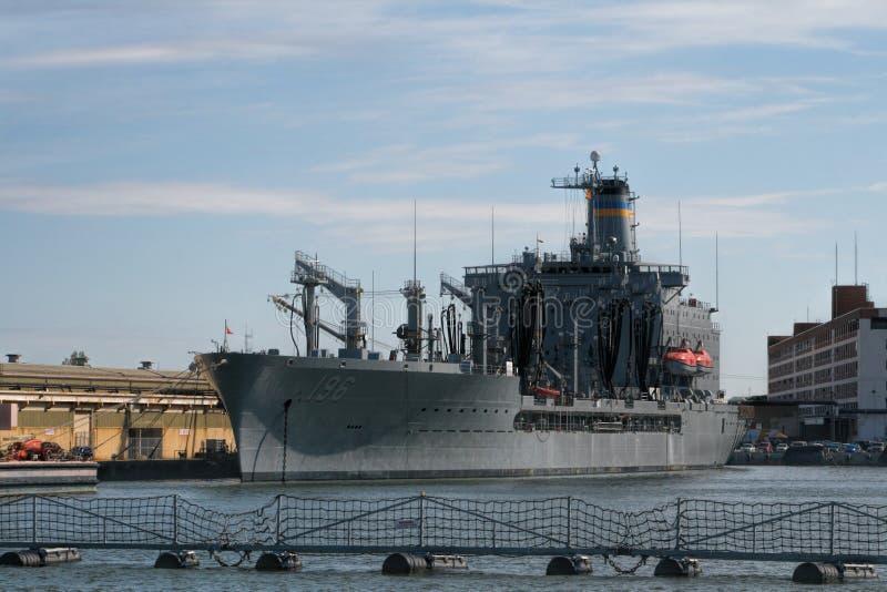 Zeeschepen in Haven royalty-vrije stock foto