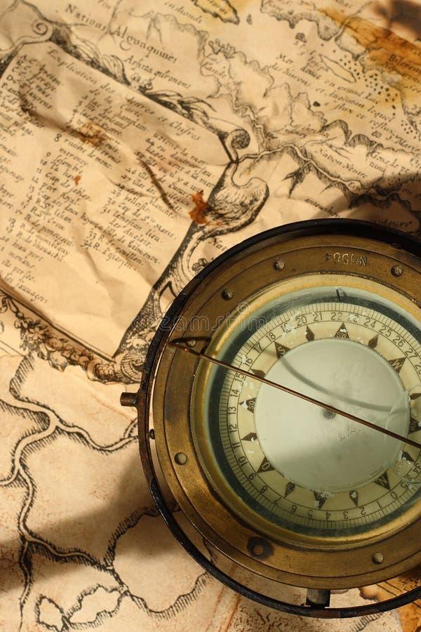 Zeevaart kompas stock afbeeldingen