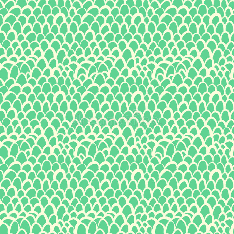 Zeevaartdiepatroon door tropische vissenhuid wordt geïnspireerd vector illustratie