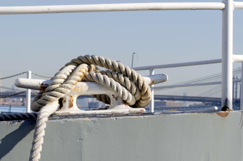 Zeevaartknoop stock afbeelding