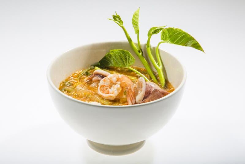 Zeevruchten Sukiyaki stock fotografie