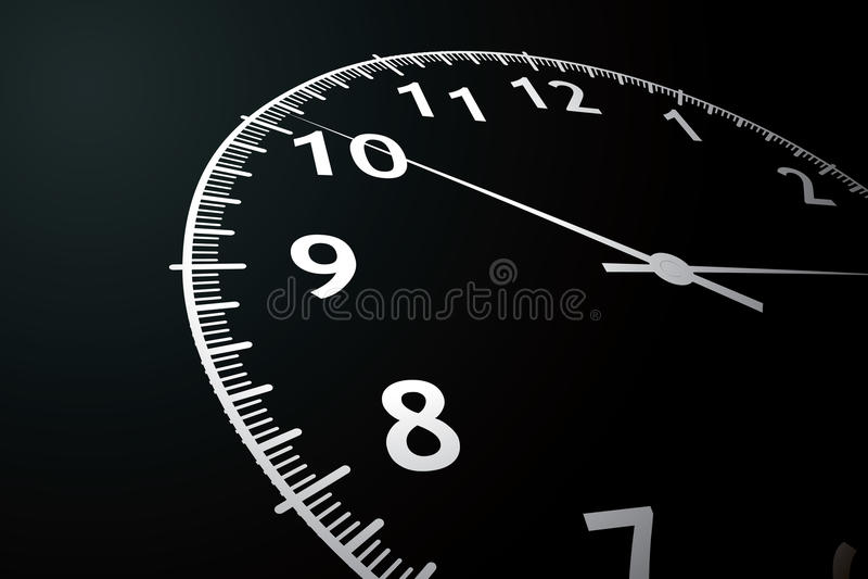 Zegar ilustracji