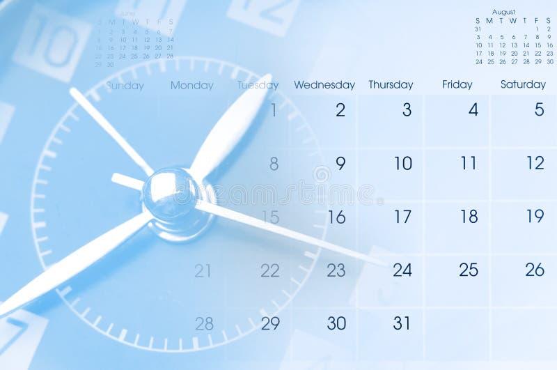 Zegar i Kalendarz zdjęcia royalty free