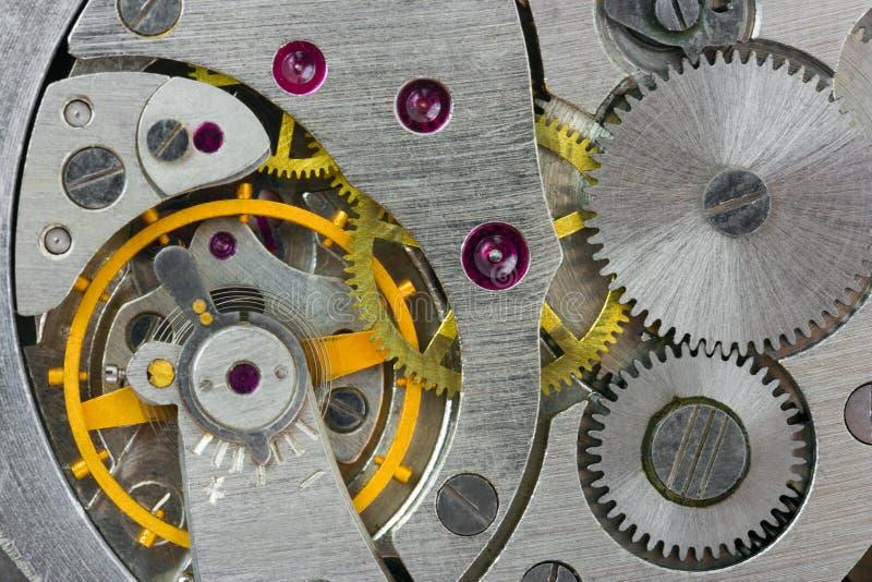 zegar makro zdjęcie stock