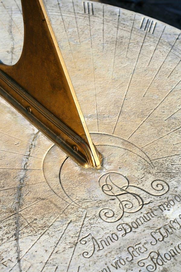 zegar słoneczny fotografia stock
