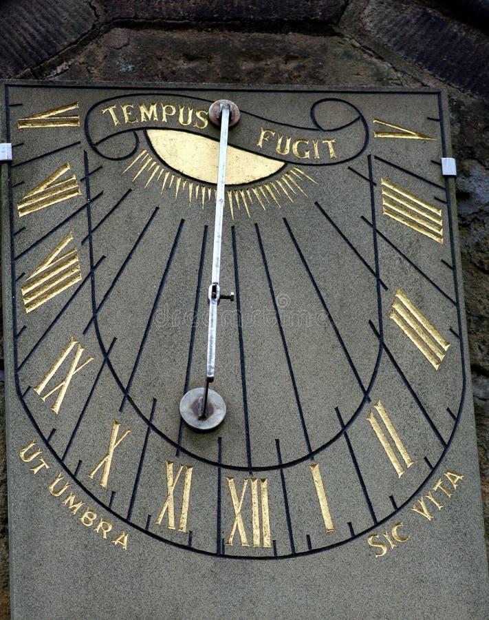 zegar słoneczny do spadku obraz stock