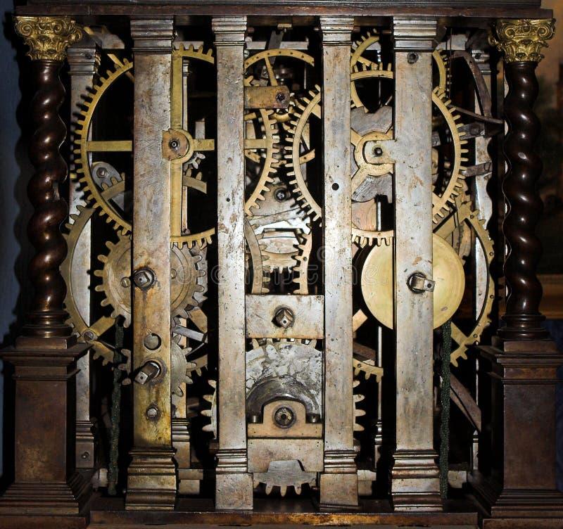 zegar w środku zdjęcia royalty free