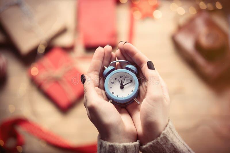 zegar wręcza mienia obrazy stock