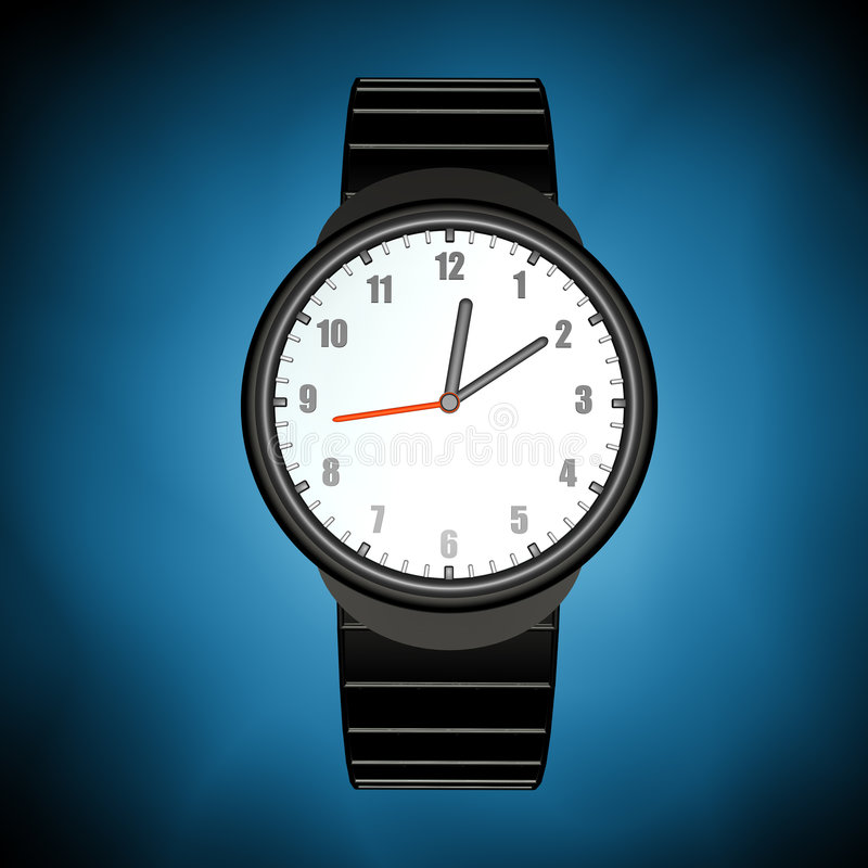 zegarek. royalty ilustracja