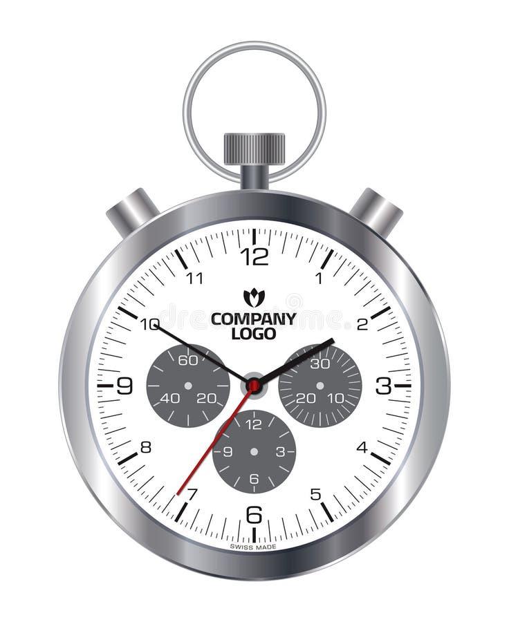 zegarek royalty ilustracja
