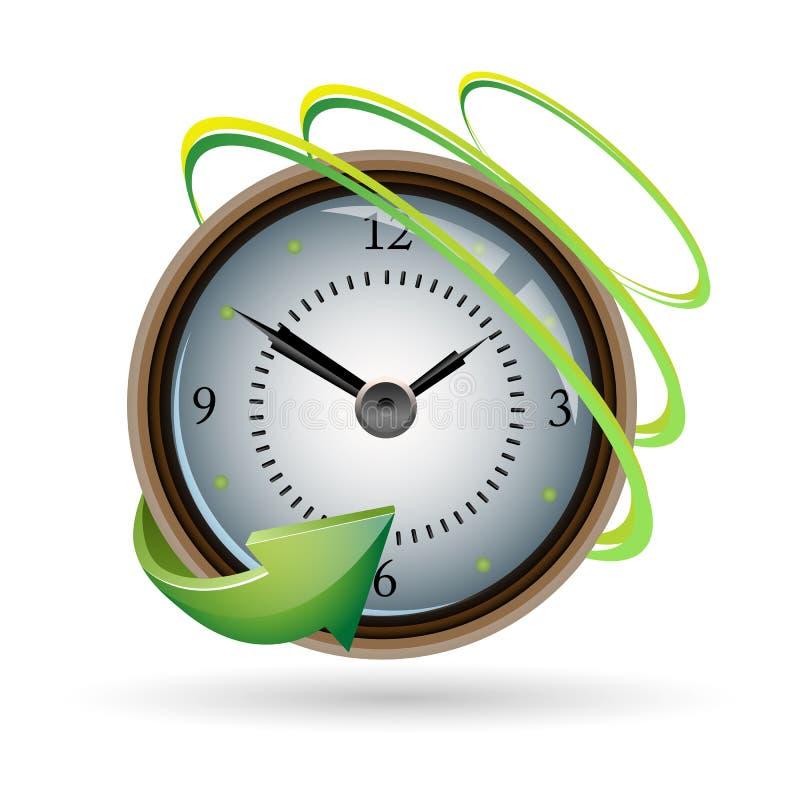 zegarek sieć ilustracja wektor