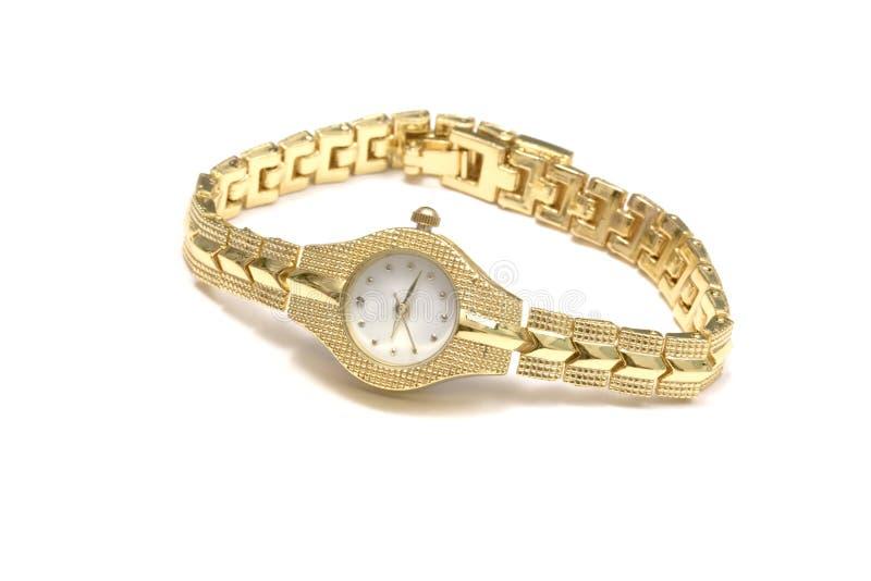 zegarka kobiety nadgarstek obraz stock