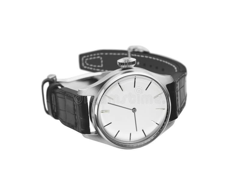 zegarka odosobniony biel zdjęcie royalty free