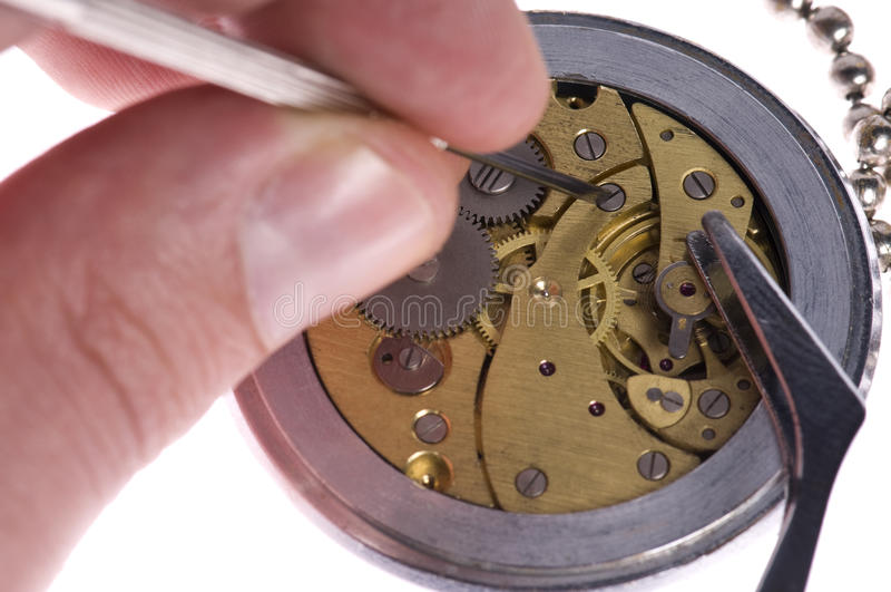 zegarmistrz obraz stock