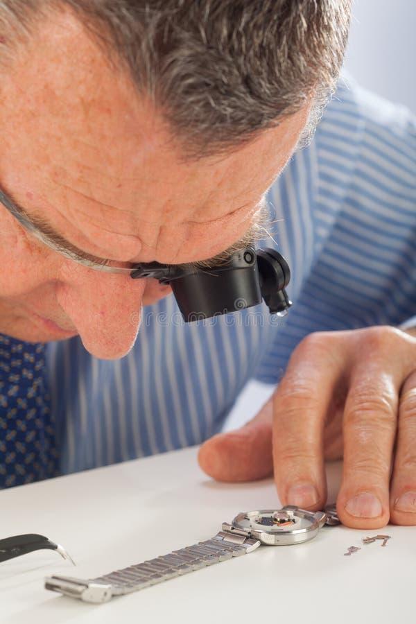Zegarmistrz zdjęcie stock
