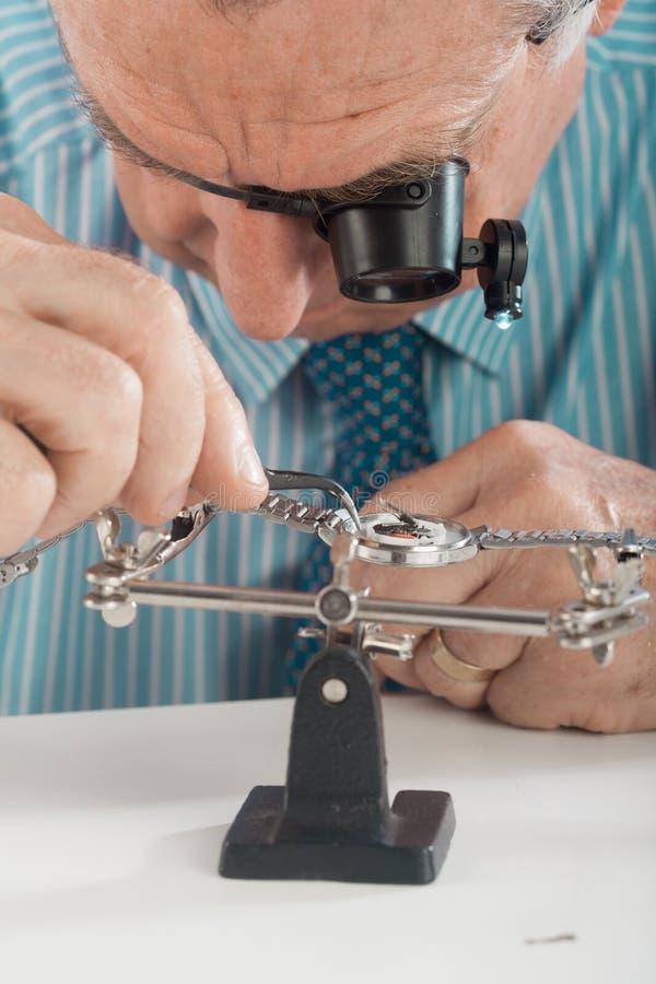 Zegarmistrz obrazy stock