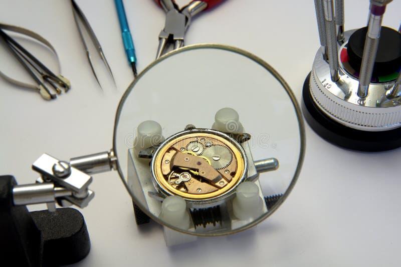 zegarmistrza obraz stock