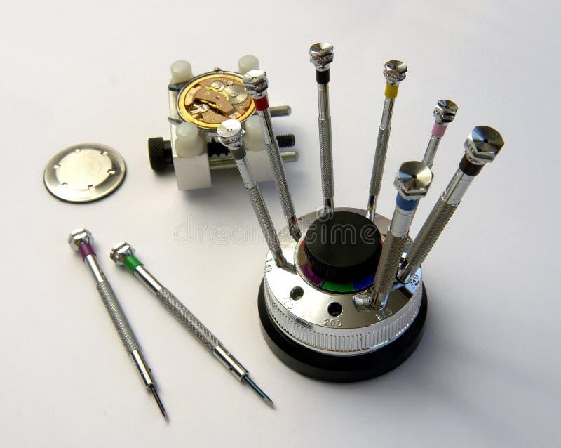 zegarmistrza fotografia stock